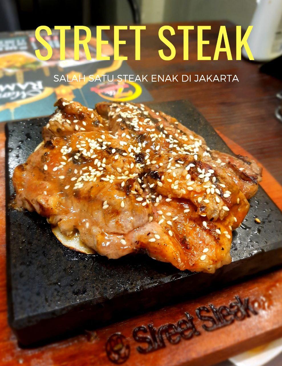 Steak Enak di Jakarta, Street Steak Restoran.