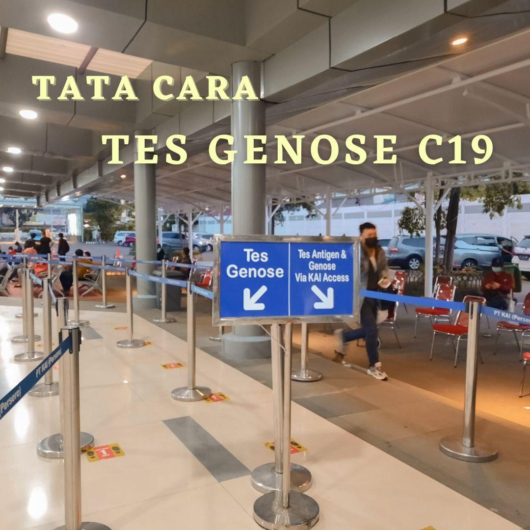 Tata Cara Tes GeNose C19 di Stasiun